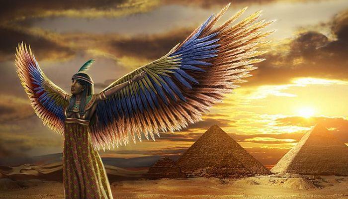 La adoracion de los egipcios por los gatos