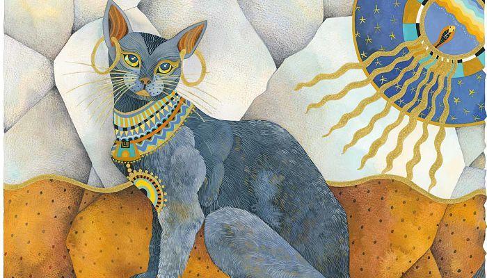 gatos y el antiguo Egipto
